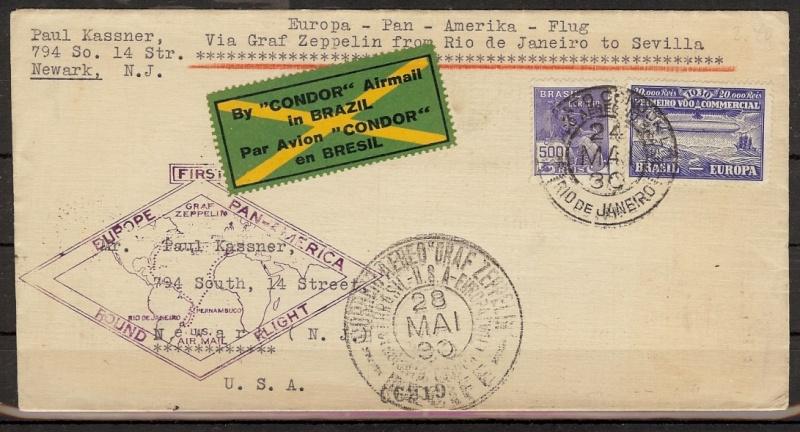 Südamerikafahrt 1930, Post nach Sevilla 59_c_r11