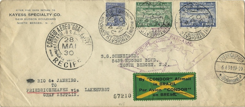 """Südamerikafahrt 1930 (Rundfahrt-) Post nach Friedrichshafen"""" - Seite 4 59_cd10"""