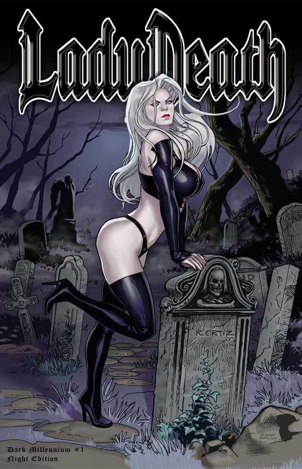 Os Desenhistas De Lady Death 40576210