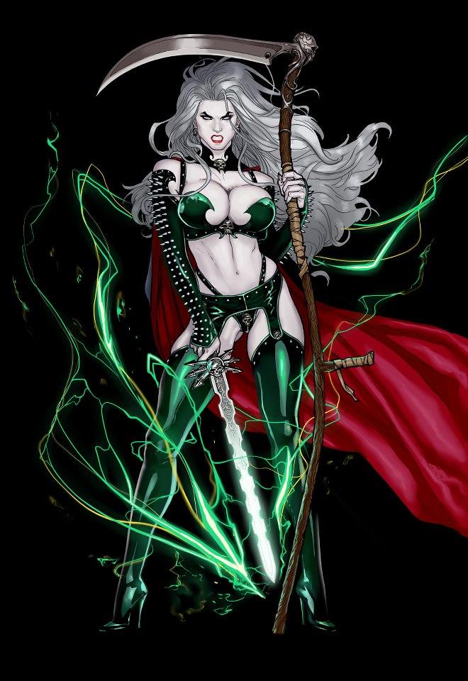 Os Desenhistas De Lady Death 54462310