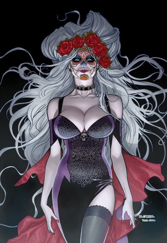 Os Desenhistas De Lady Death 54888710