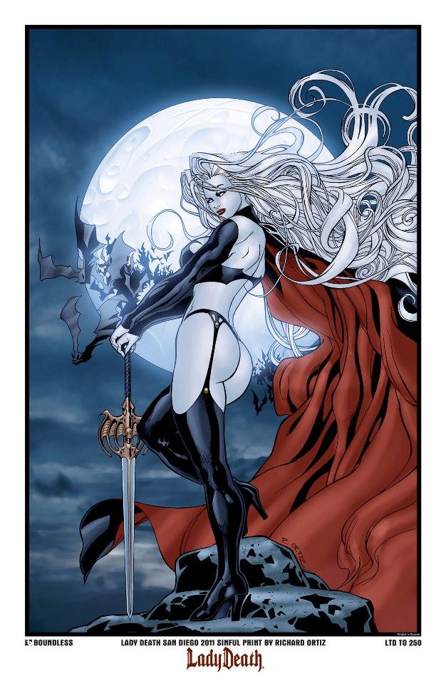 Os Desenhistas De Lady Death 58124710
