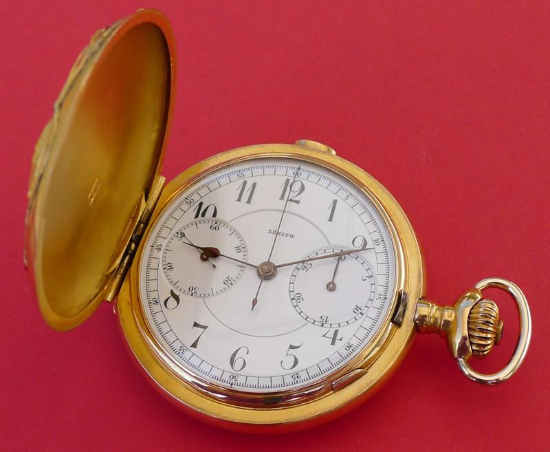 Un beau chronographe Zenith-Lecoultre Zen-le10