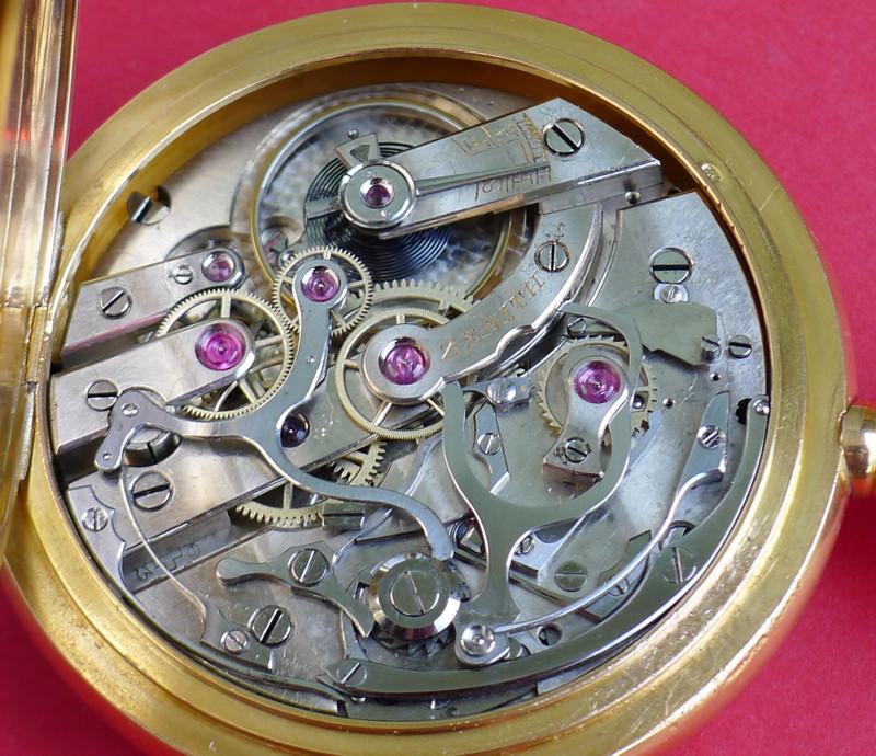 Un beau chronographe Zenith-Lecoultre Zen-le11