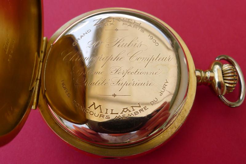 Un beau chronographe Zenith-Lecoultre Zen-le14