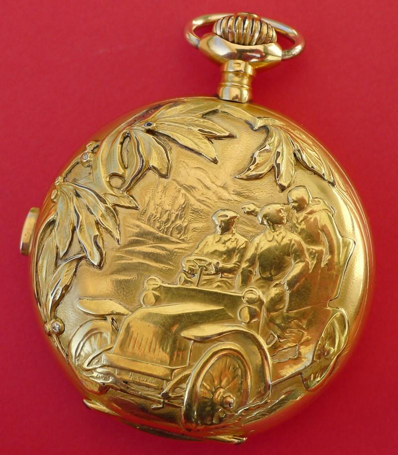 Un beau chronographe Zenith-Lecoultre Zen-le16
