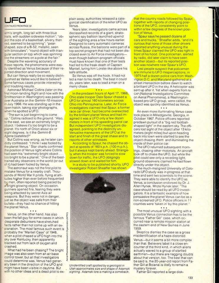 Portage County Ohio, Police UFO chase 1966 Omni_p10