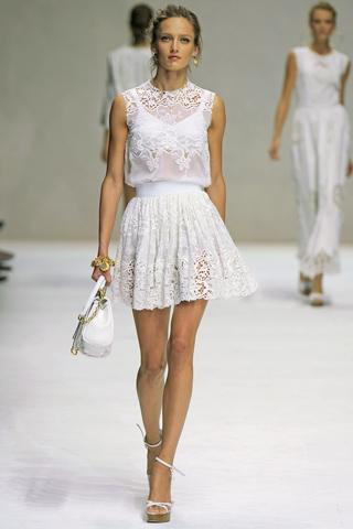 Модные тенденции весна-лето 2011 D710