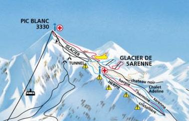L'Alpe d'Huez ouvre son glacier de ski d'été Captur10