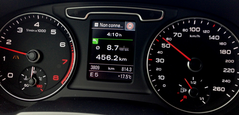 Audi Q3 Ambition luxe 2.0 TFSI quattro S tronic - Page 21 Conso10