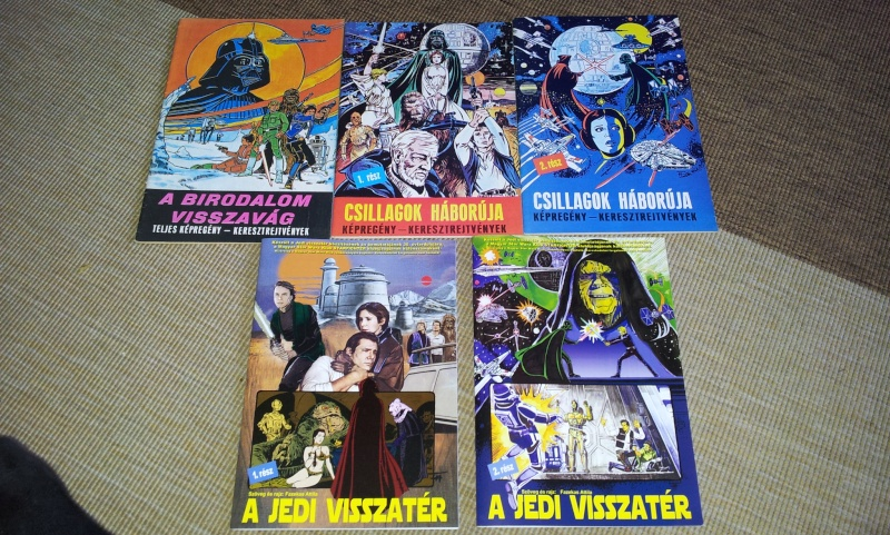 FS: Return of the Jedi (hungarian comic adaptation) (part 1 + part 2) 20130512