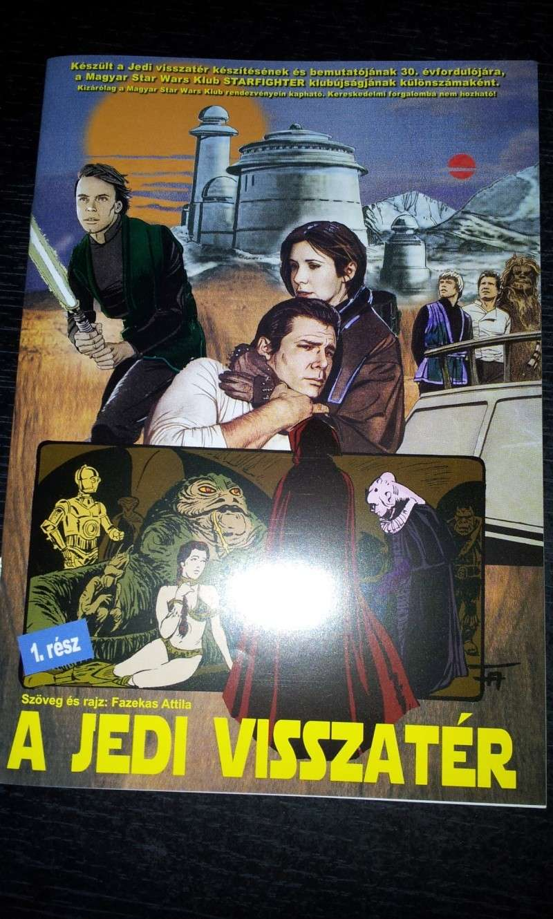 FS: Return of the Jedi (hungarian comic adaptation) (part 1 + part 2) 20130513