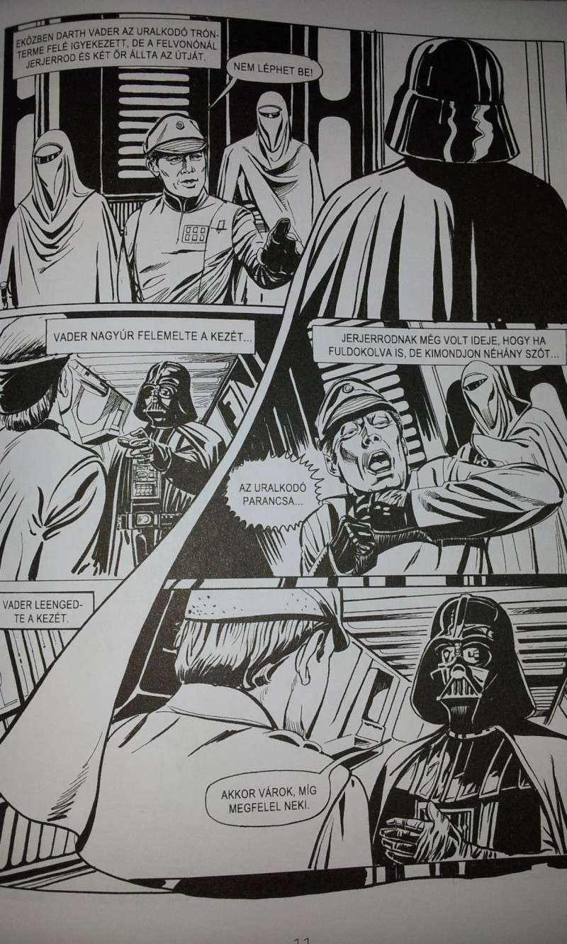FS: Return of the Jedi (hungarian comic adaptation) (part 1 + part 2) 20130515
