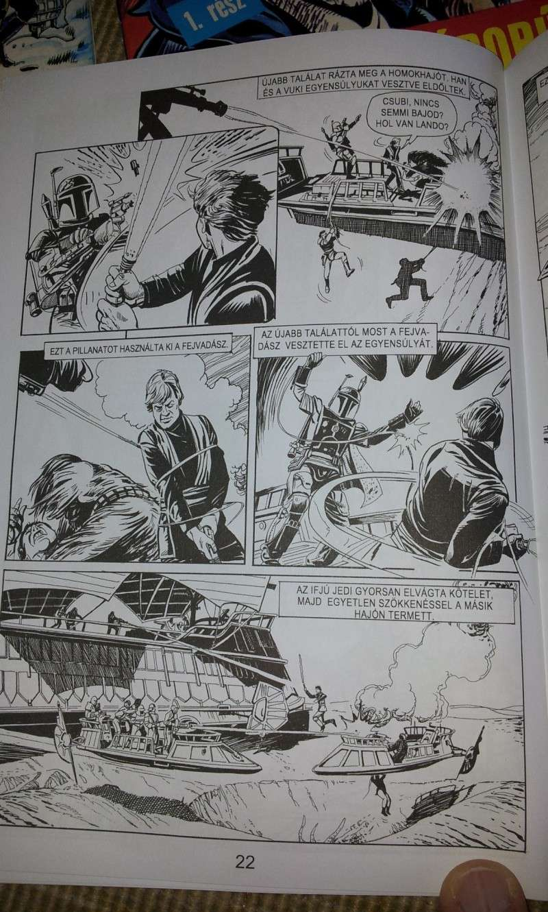 FS: Return of the Jedi (hungarian comic adaptation) (part 1 + part 2) 20130517