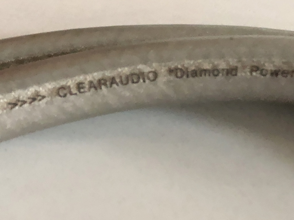 Clearaudio power cable D5e8b110