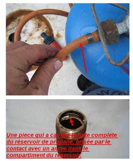 Propane Y Splitter Double Tuyau Connecteur deux GPL tuyaux peuvent se connecter à un LP Tank