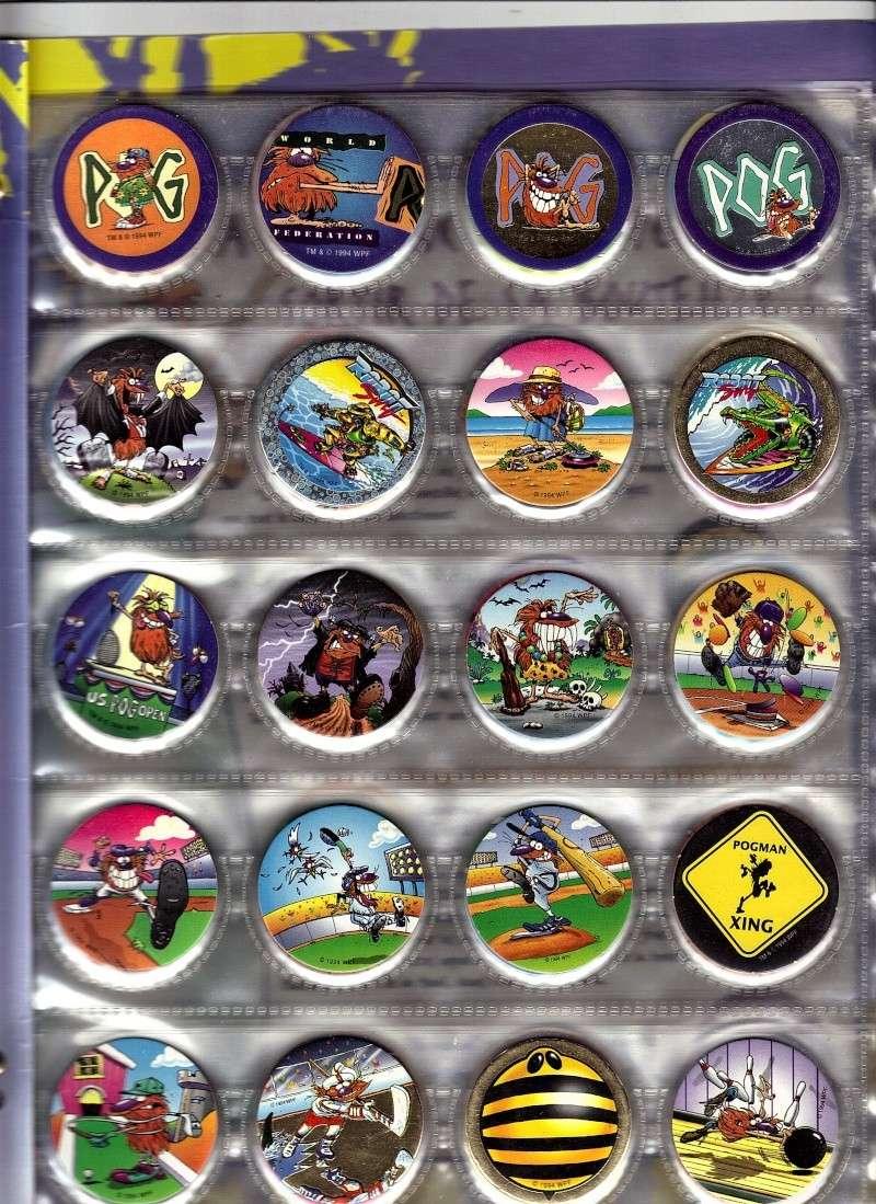 Une autre passion, les pogs. 02-02-11