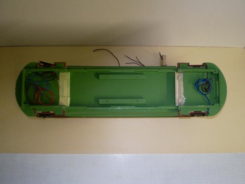 Straßenbahntriebwagen mit Sommerwagen entsteht Maßstab 1:24 Bild2024