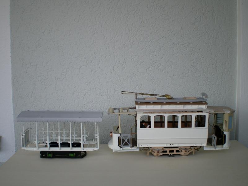 Straßenbahntriebwagen mit Sommerwagen entsteht Maßstab 1:24 Neuer_11