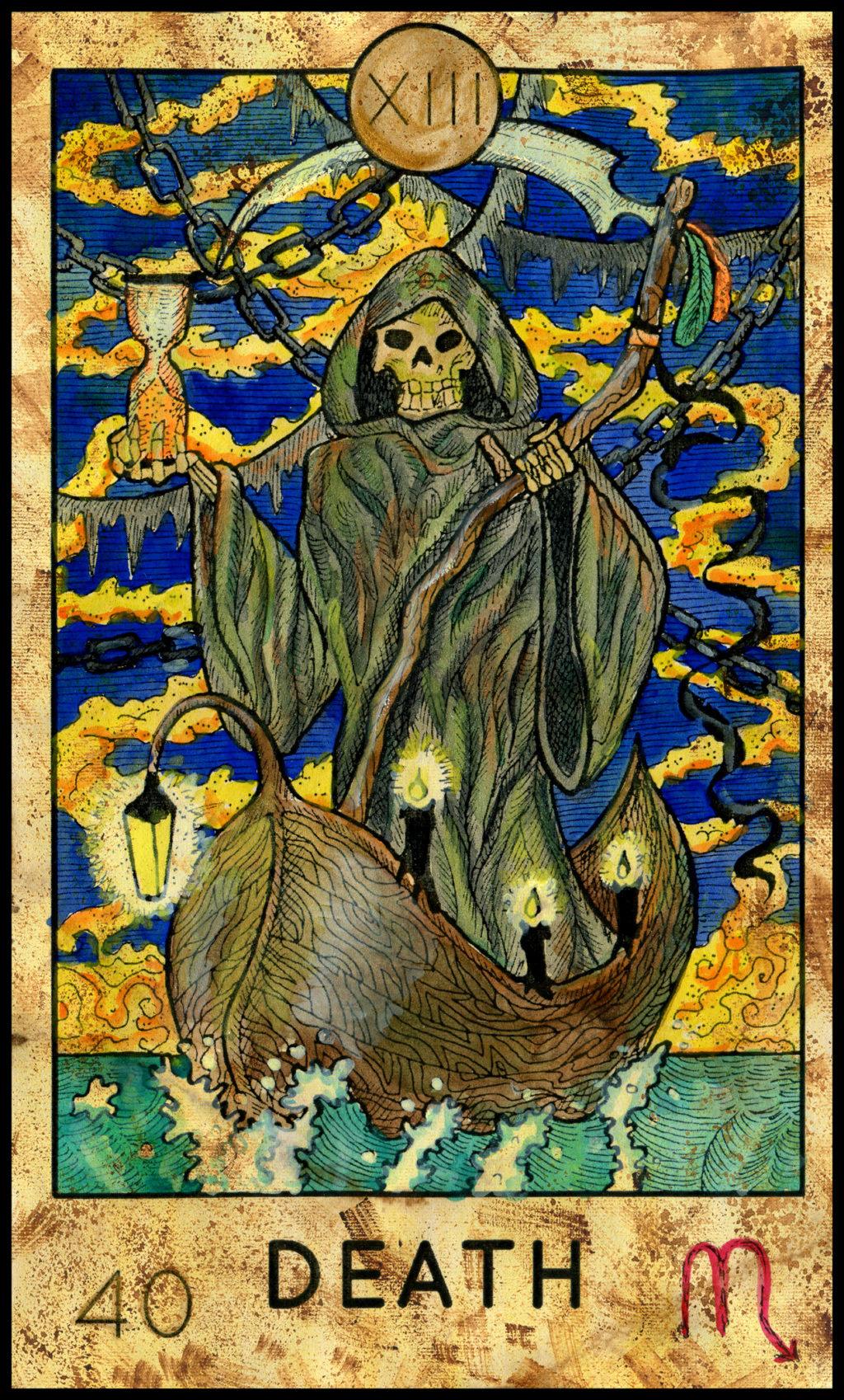 The Tarot Guild Death10
