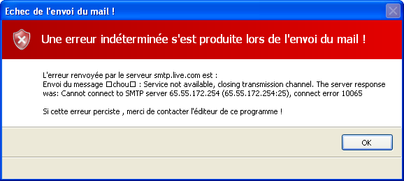 MailSender V2.5 Mise à jour -> V2.5.8.0 2510