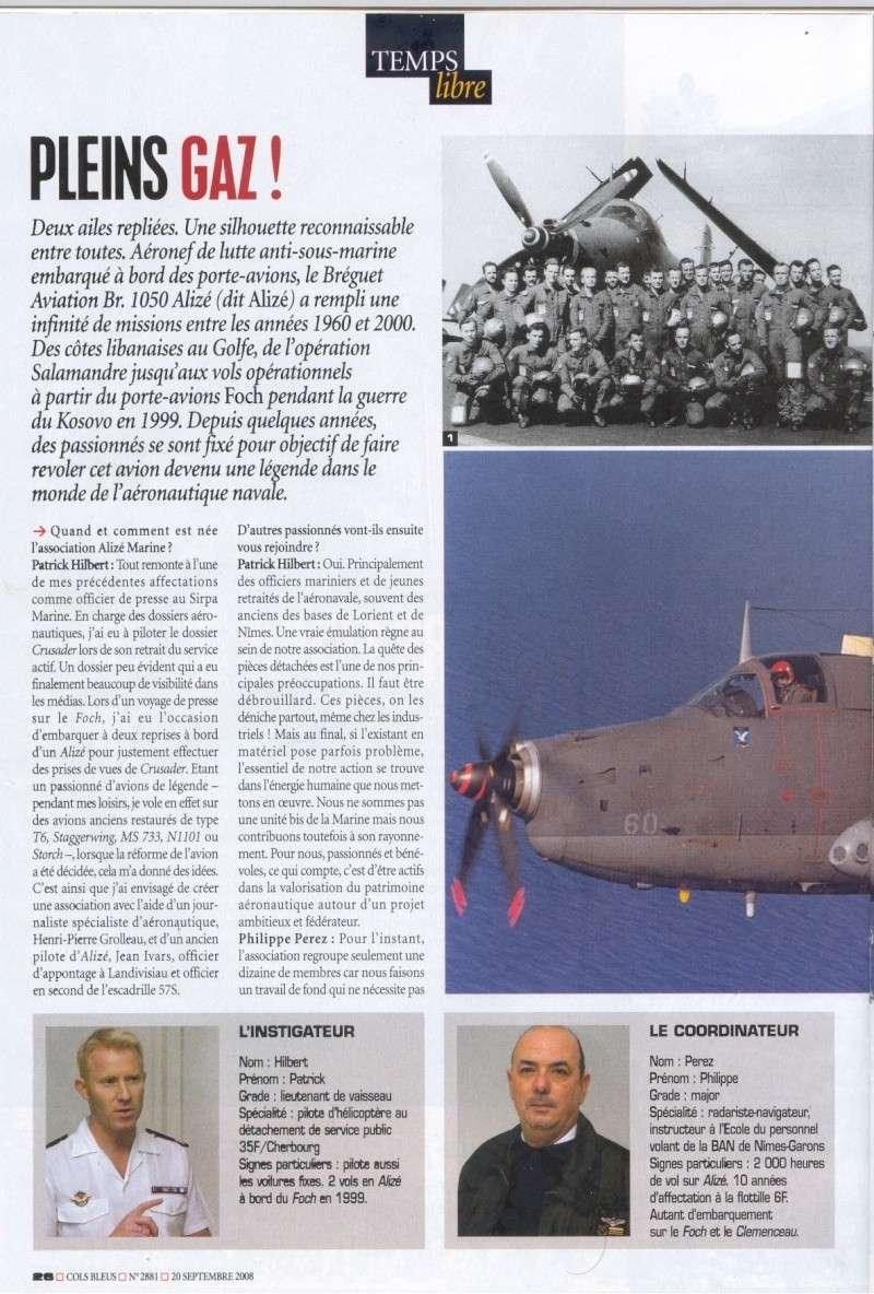 [Aéronavale divers] Breguet Alizé BR 1050 - Page 6 Cols_b10