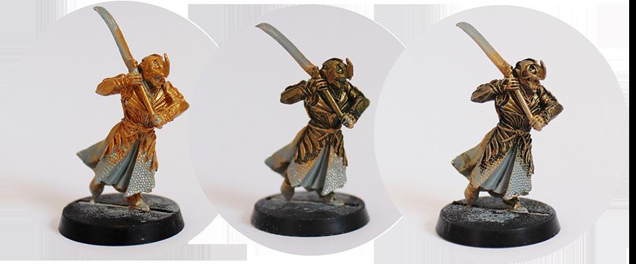 Peindre un Elfe d'Haldir (Galadhrim) Armure10
