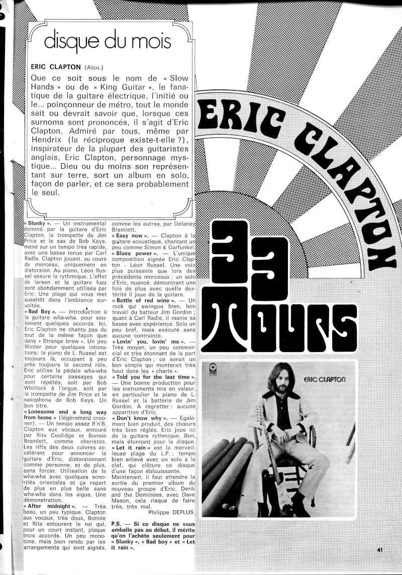 Eric Clapton (1970) B26-3410