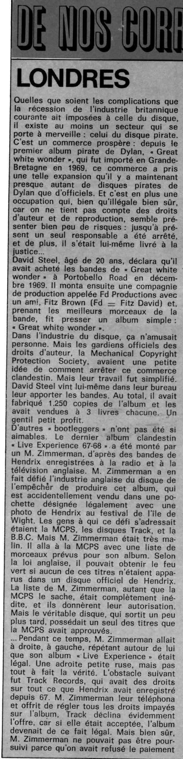 Jimi Hendrix dans la presse musicale française des années 60, 70 & 80 - Page 14 B32-3619