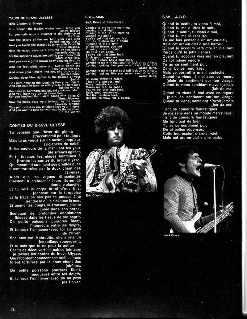 La presse musicale française des années 60-70-80 R59-3322