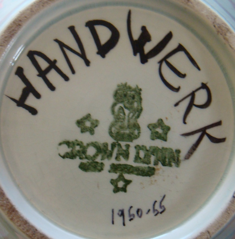 Four digit numbered Hand Potted  Dsc05321
