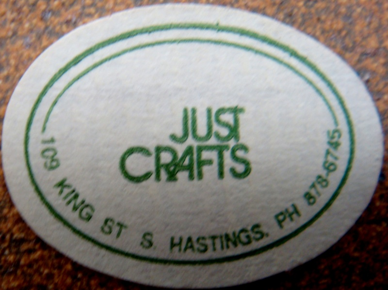 A Just Crafts coffee set - unknown potter stamp Dsc05534