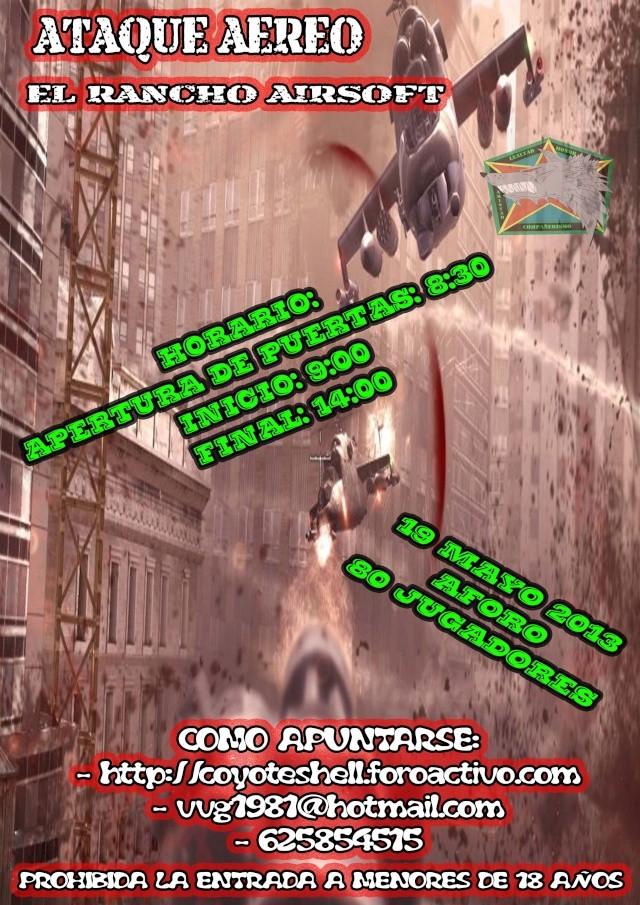 Ataque aereo, partida abierta 19.05.13 El Rancho (Brunete) Ataque10