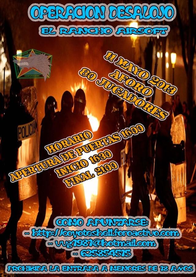 Op. Desalojo, partida abierta (de tarde) 11.05.13 El Rancho (Brunete) Desalo10