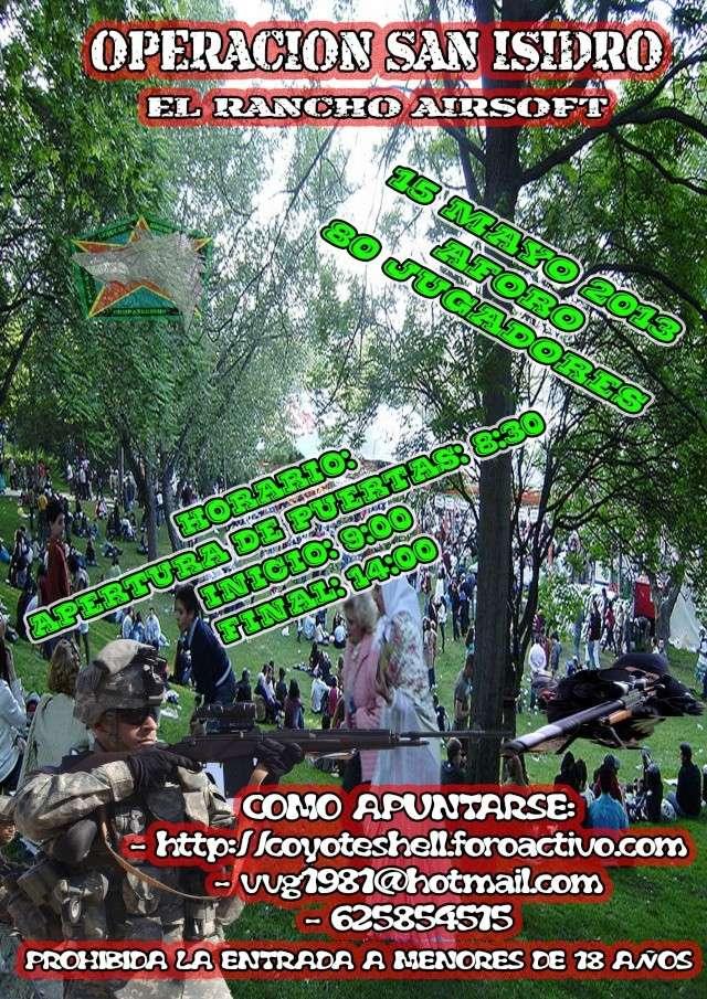 Op. San Isidro, partida abierta 15.05.13 El Rancho (Brunete) Sanisi10