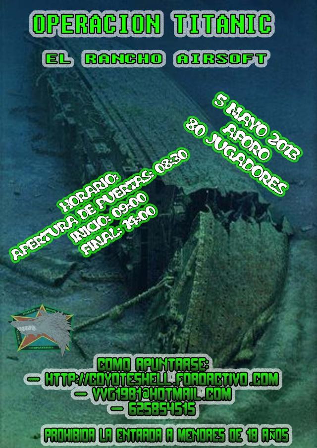 Op.Titanic, partida abierta 5.05.13 El Rancho (Brunete) Titani10