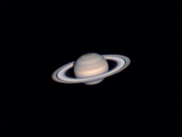 Saturne avec le C8 du Club Sat_4010