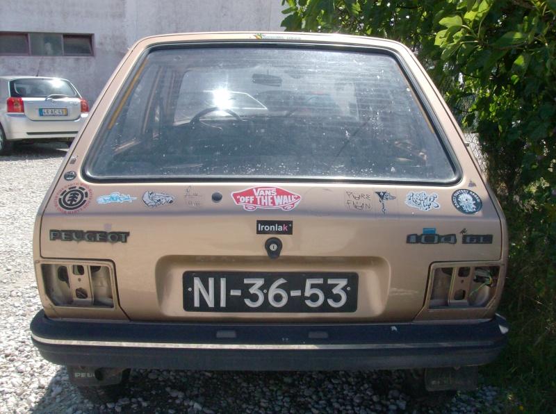 [ VENDIDO ] Para-choques trazeiro - Peugeot  104 Peugeo15
