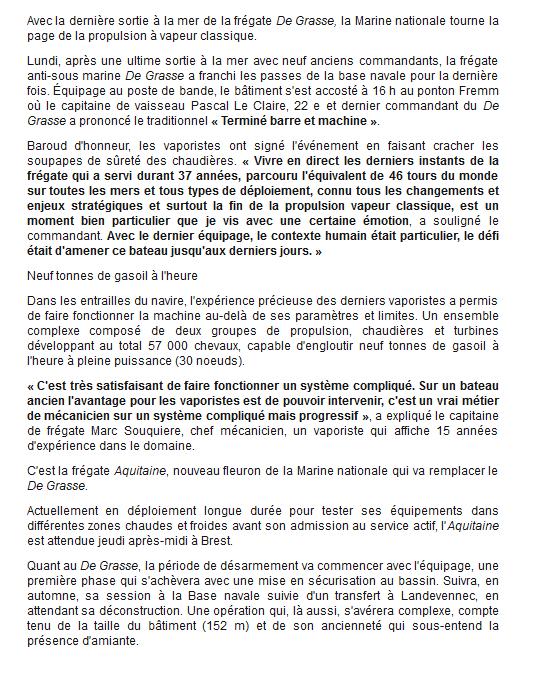 DE GRASSE (FRÉGATE) - Page 6 Degras12
