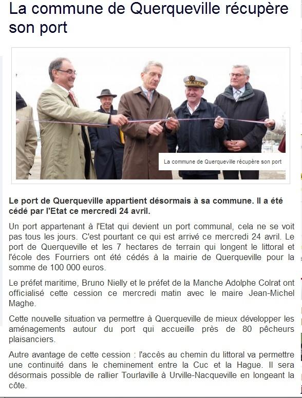 [Activité des ports hors Marine] LE PORT DE CHERBOURG - Page 13 Querq10