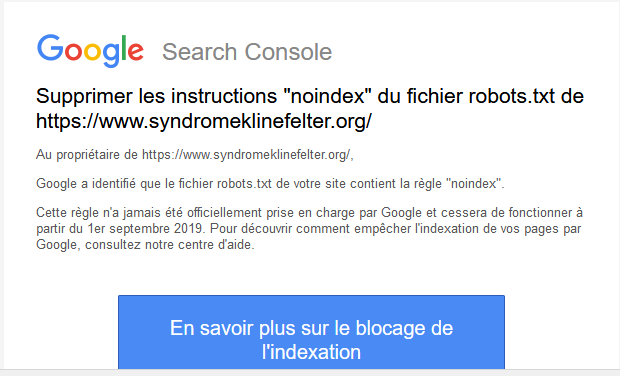 Google Search console Mail_g10