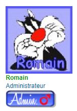 Comment faire pour que le nom du rang et l'image du rang soit affiché sous le pseudo dans le message Modzor10