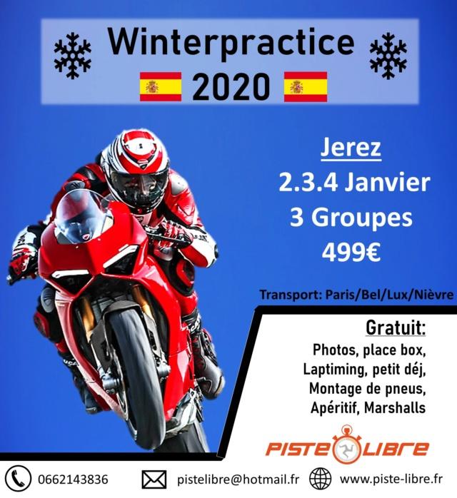 Jerez 2.3.4 Janvier 2020 3 Groupes avec Piste Libre 499€ Winter10