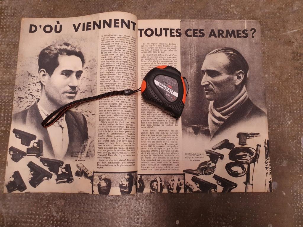 Brochure de propagande Allemande contre les résistants  20201196