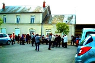 5 Mai 2013 Sur les traces du camp de Beaune La Rolande Gare10