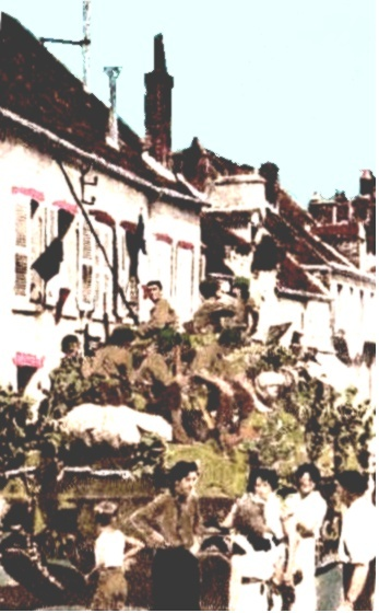 le 320th Infantry Regiment à Pithiviers, Montargis et Courtenay Us_sig10