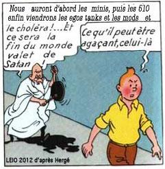 Le jeu du détournement... - Page 2 Tintin10