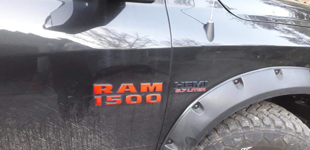 Personnalisation  Ram rebel 20201111