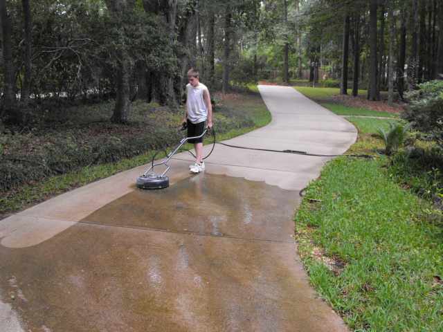 Pressure Cleaning Tallahassee Florida Dscf5111