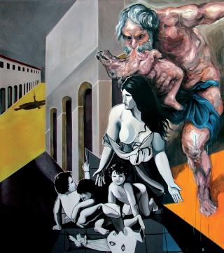 « Carte blanche » à Pierre Buraglio qui invite le Collectif : Buraglio / Garcia / Brouillon Buragl10